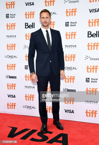 Alexander Skarsgård attends the The Hummingbird Project premiere during 2018 Toronto International Film Festival at Princess of Wales Theatre on...