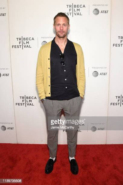 "Alexander Skarsgård attends the ""The Kill Team"" screening during the 2019 Tribeca Film Festival at BMCC Tribeca PAC on April 27, 2019 in New York..."
