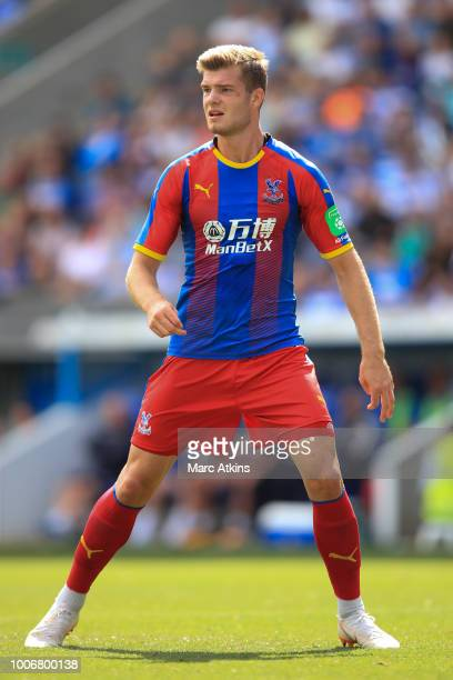 Alexander Sorloth of Crystal Palace during the PreSeason Friendly between Reading and Crystal Palace at Madejski Stadium on July 28 2018 in Reading...
