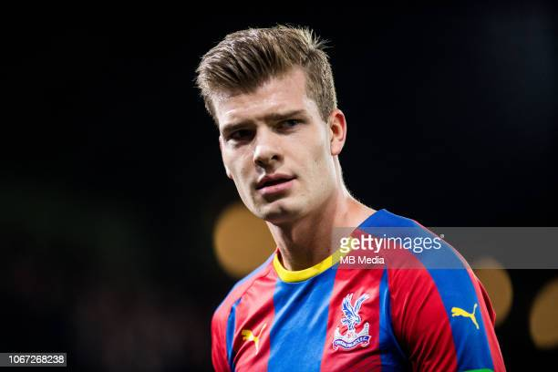 Alexander Sorloth of Crystal Palace looks on during the Premier League match between Crystal Palace and Burnley FC at Selhurst Park on December 1...