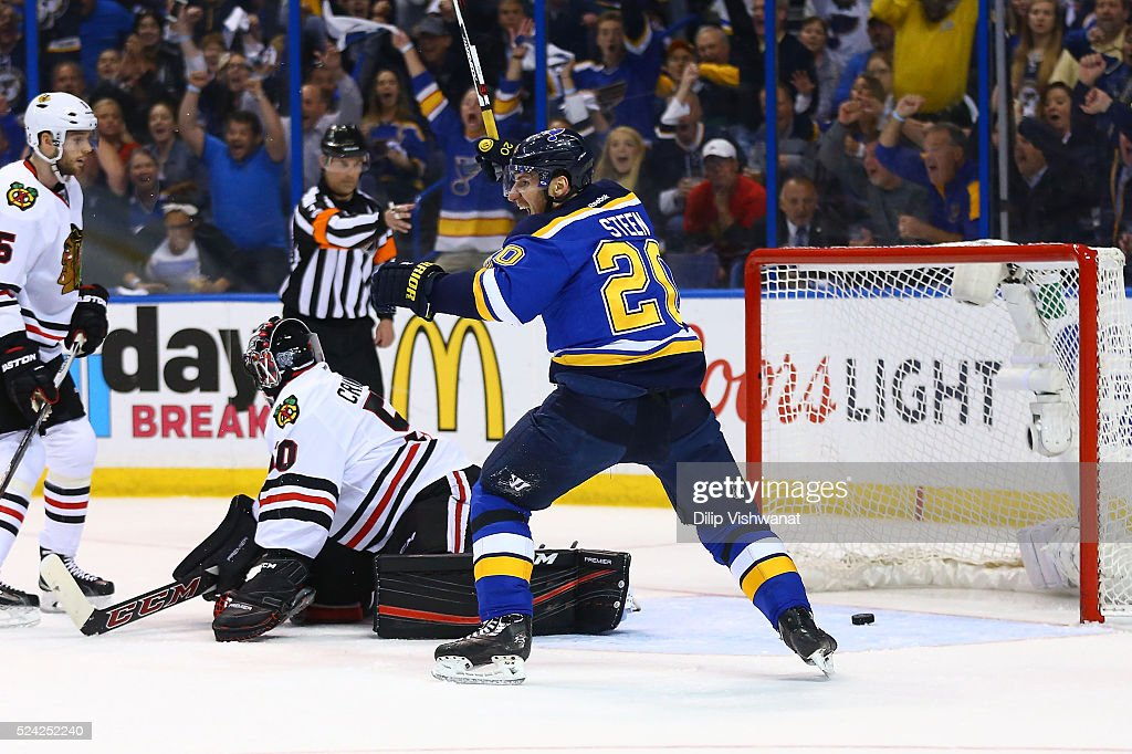 Chicago Blackhawks v St. Louis Blues - Game Seven : News Photo