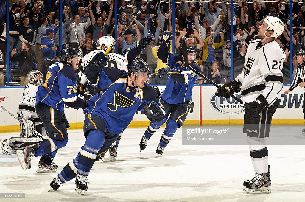 Los Angeles Kings v St Louis Blues - Game Five