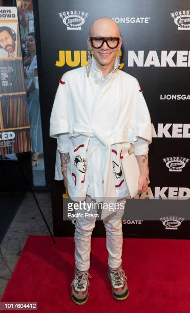 Alexander Steinberg AKA Sasha Velour attends premiere of 'Juliet Naked' at Metrograph