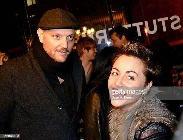 Alexander Stutterheim and Jaime Winstone attend the launch of the Stutterheim Raincoats pop up shop in Shoreditch on November 22 2012 in London...