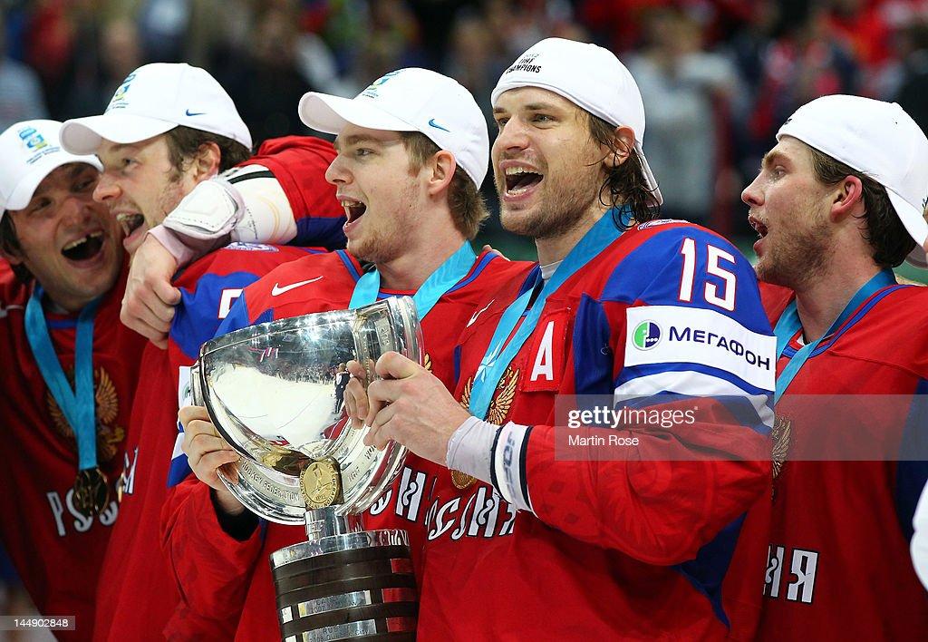 Russia v Slovakia: Final - 2012 IIHF Ice Hockey World Championship : News Photo