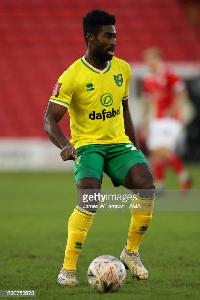 Alexander Tettey of Norwich City during The Emirates FA Cup Fourth Round match between Barnsley and Norwich City at Oakwell Stadium on January 23,...