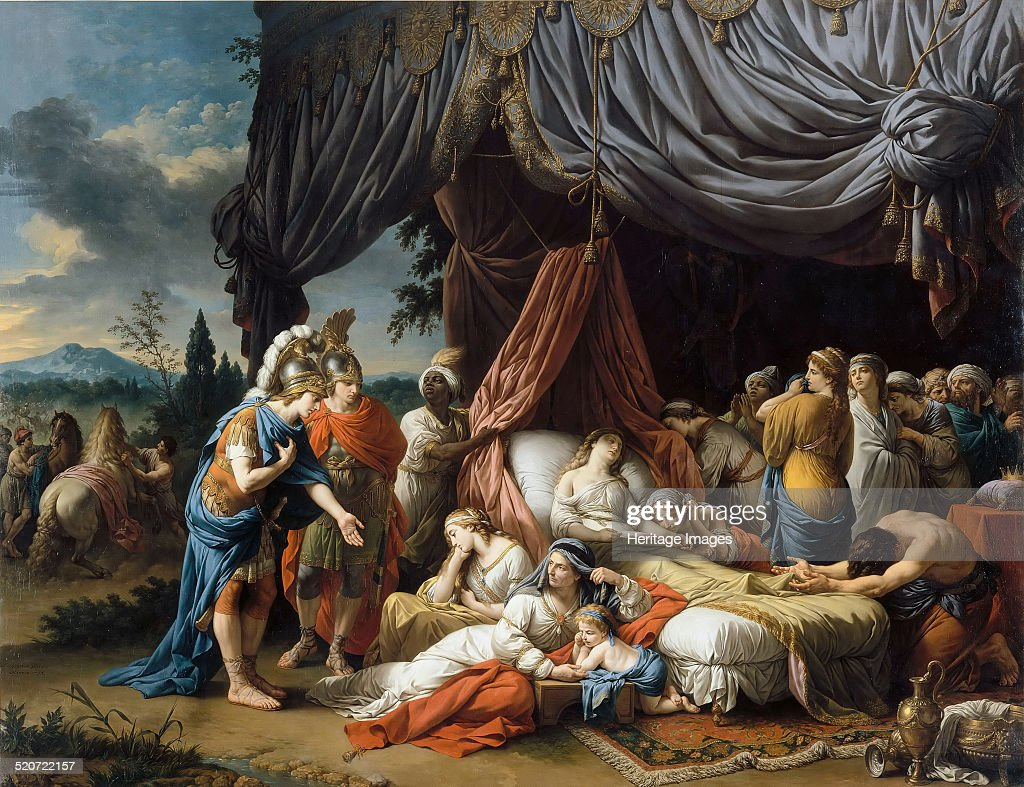 Alexander the great and hephaestion at the deathbed of the wife of alexander the great and hephaestion at the deathbed of the wife of darius iii found kristyandbryce Choice Image
