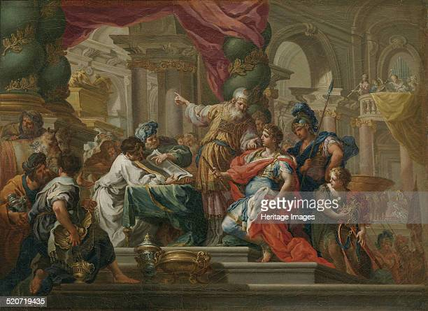 Alexander the Great in the Temple of Jerusalem Found in the collection of Museo del Prado Madrid