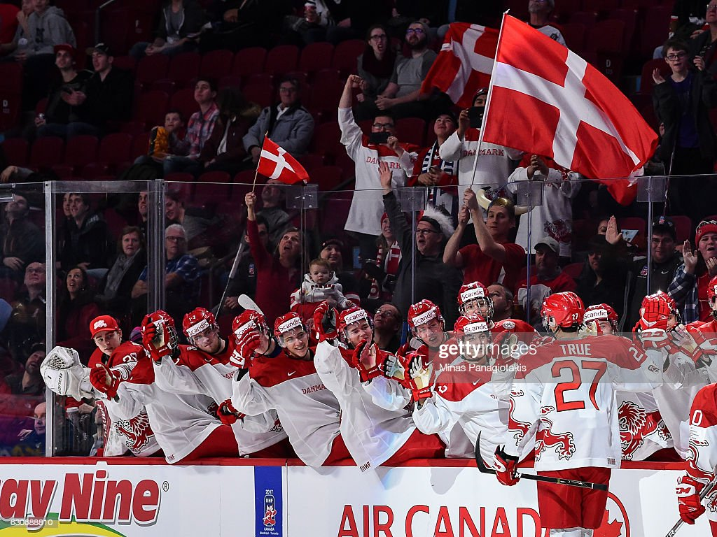 Switzerland v Denmark - 2017 IIHF World Junior Championship : News Photo