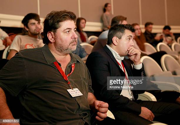 Alexander Tsekalo attends the Concerned Russian premiere of Boris Khlebnikov's TNT Series during the Saint Petersburg International Media Forum at...