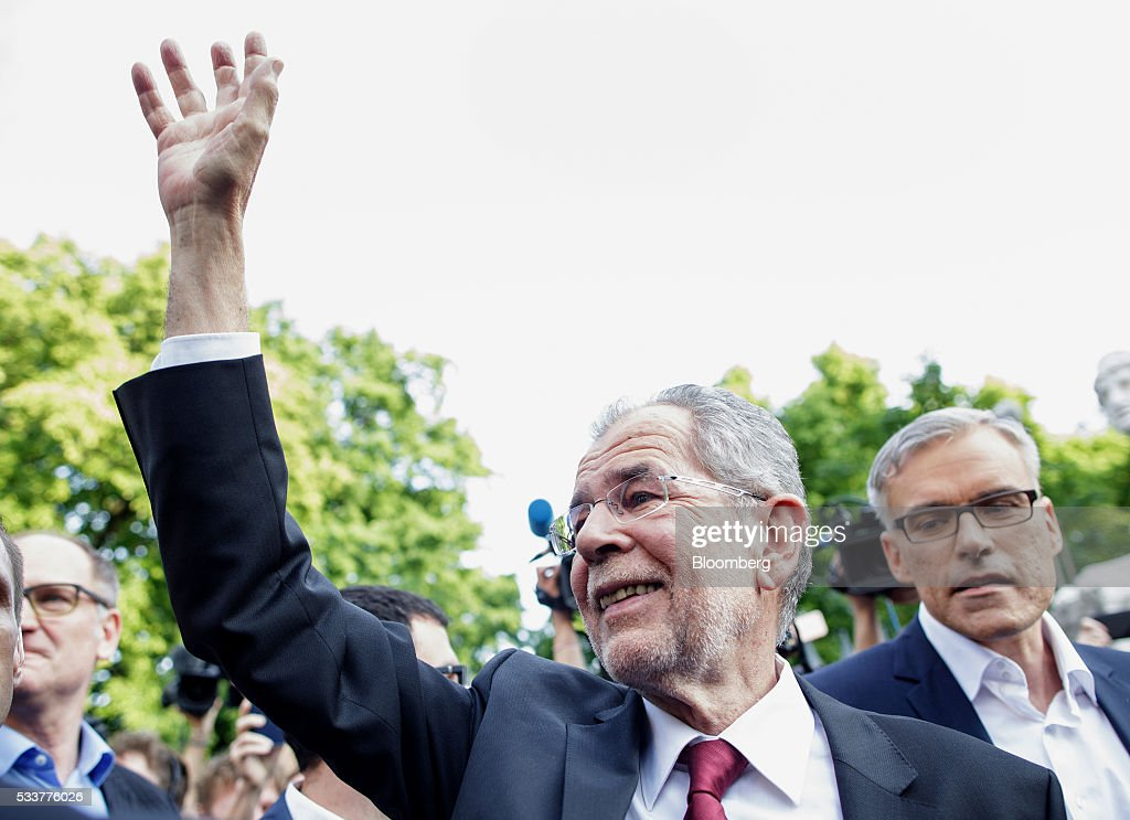 Austrian Election Results As Absentee Ballots To Decide Outcome : News Photo