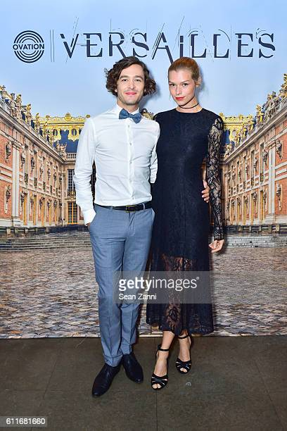 Alexander Vlahos and attend Ovation TV Celebrates October 1st Premiere of the HighlyAnticipated Drama Versailles with Cast Members CoCreator and...
