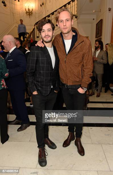 Alexander Vlahos and Jack Fox attend Canada Goose x London Celebrating London Flagship Opening and 60th Anniversary at Canada House on November 15...