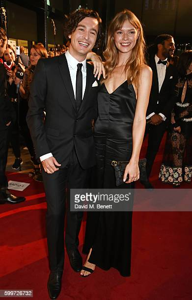 Alexander Vlahos and Kajsa Mohammar attend the GQ Men Of The Year Awards 2016 at the Tate Modern on September 6 2016 in London England