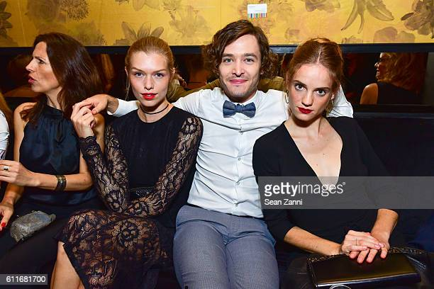 Alexander Vlahos and Noemie Schmidt attend Ovation TV Celebrates October 1st Premiere of the HighlyAnticipated Drama Versailles with Cast Members...