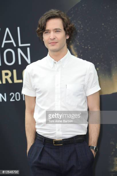 Alexander Vlahos attends photocall for 'Versailles' on June 17 2017 at the Grimaldi Forum in MonteCarlo Monaco