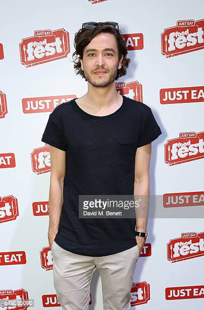Alexander Vlahos attends the Just Eat Food Fest where food fans enjoy dishes from all over the world on July 21 2016 in London England
