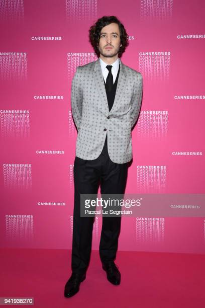 Alexander Vlahos attends the Opening Ceremony and 'Versailles Season 3' screening during the 1st Cannes International Series Festival at Palais des...