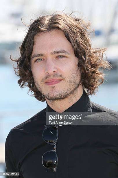 Alexander Vlahos attends the 'Versailles' photocall as part of MIPTV 2015 on April 14 2015 in Cannes France