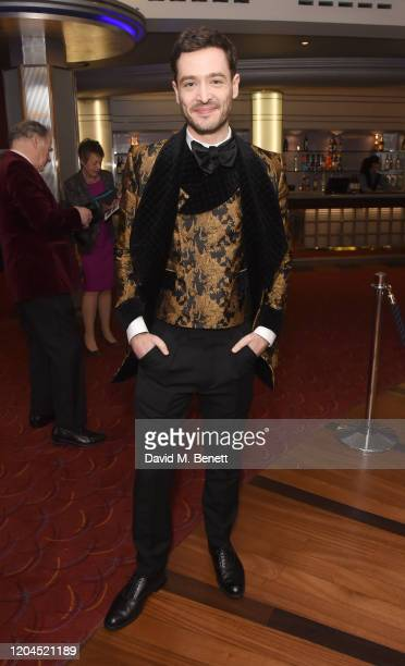 Alexander Vlahos attends The WhatsOnStage Awards 2020 at The Prince of Wales Theatre on March 1 2020 in London England