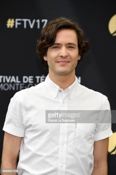 Alexander Vlahos from 'Bersailles' attends a photocall during the 57th Monte Carlo TV Festival Day 2 on June 17 2017 in MonteCarlo Monaco