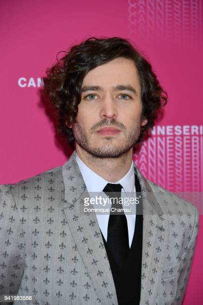 Alexander Vlahos from the 'Versailles' tv show premiere attends opening ceremony the 1st Cannes Series Festival on April 4 2018 in Cannes France