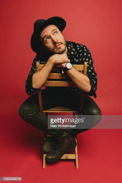 Alexander Vlahos of Ovation Network's 'Versailles' poses for a portrait at Getty Images on October 02 2018 in Los Angeles California