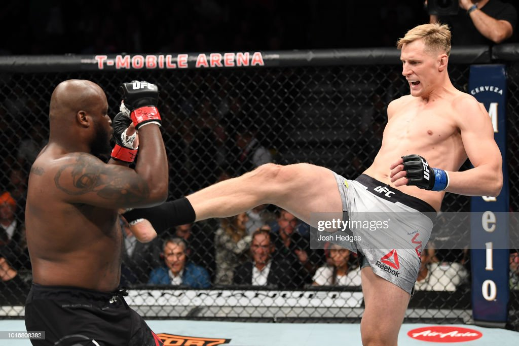 UFC 229: Lewis v Volkov : News Photo