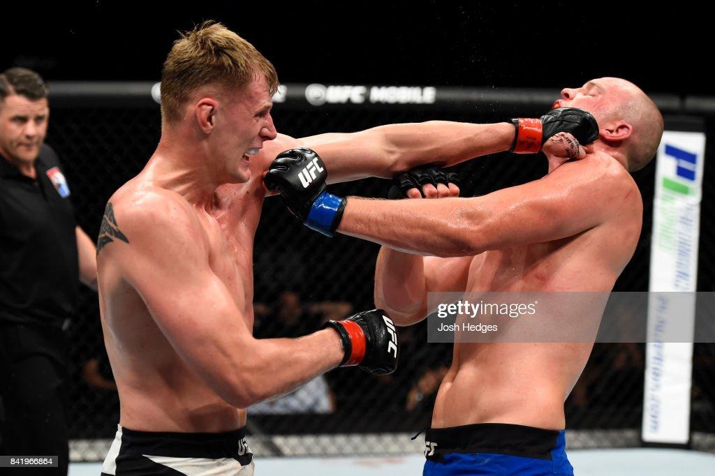 UFC Fight Night: Volkov v Struve : News Photo