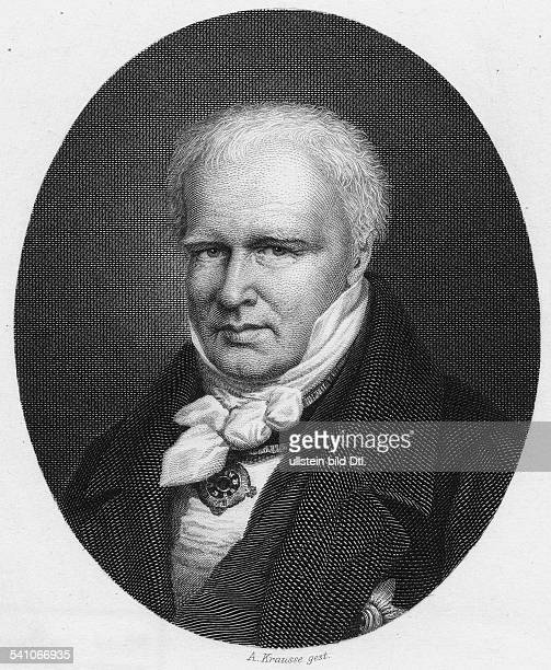 Alexander von Humboldt *1409176906051859 german scientist portrait by A Krausse 1850