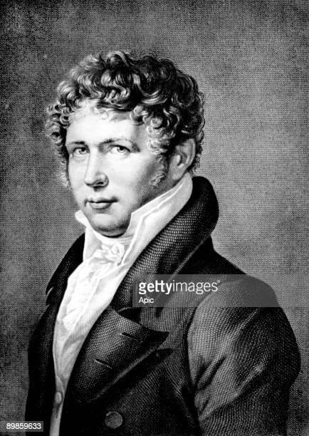 Alexander Von Humboldt german naturalist and explorer, engraving