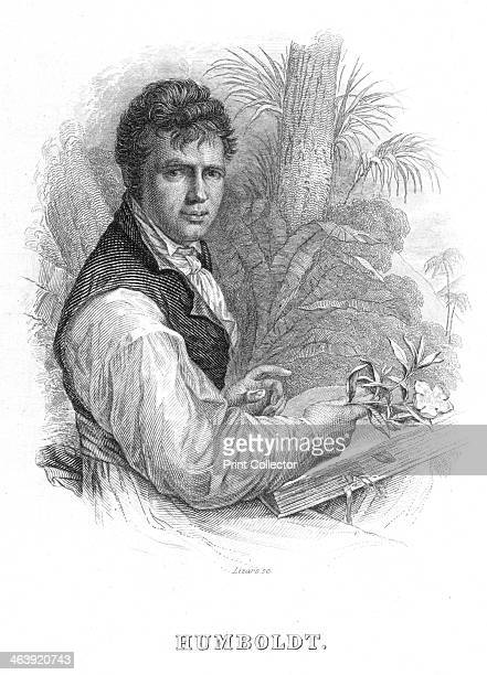 Alexander von Humboldt German naturalist c1830 Humboldt's interests included geophysics geology and botany and he is sometimes called the founder of...