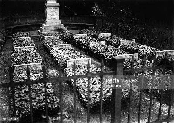 Alexander von Humboldt german scientist burial place date unknown