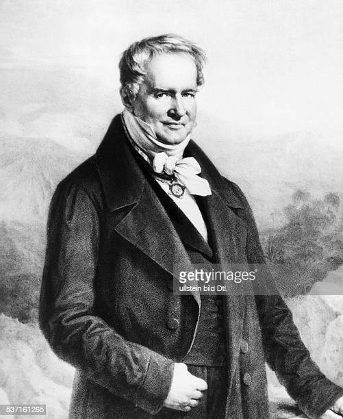 Alexander von Humboldt german scientist portrait 1850