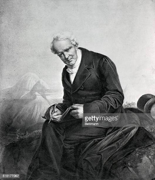 Alexander Von Humboldt German traveler naturalist and statesman 17691859