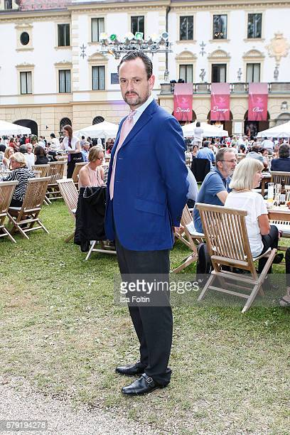 Alexander von SchoenburgGlauchau attends the Joan Baez Concert during the Thurn Taxis Castle Festival 2016 on July 22 2016 in Regensburg Germany
