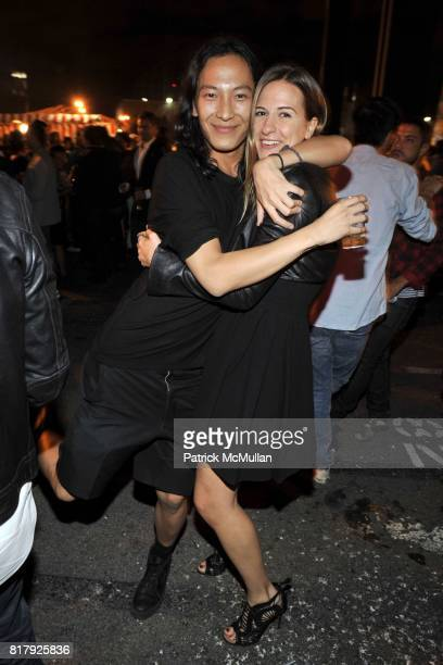 Alexander Wang and Alexandra Fritz attend ALEXANDER WANG After Party at Edison Parking Lot on September 11 2010 in New York City