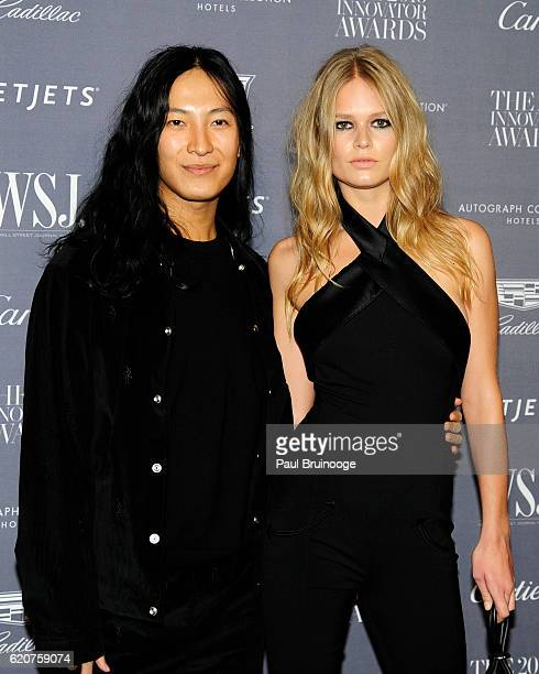 Alexander Wang and Anna Ewars attend the WSJ Mag Innovator Awards 2016 Arrivals at The Museum of Modern Art on November 2 2016 in New York City