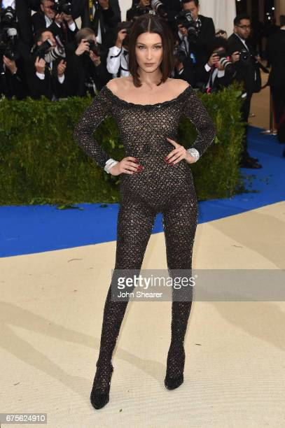 """Alexander Wang and Bella Hadid attend the """"Rei Kawakubo/Comme des Garcons: Art Of The In-Between"""" Costume Institute Gala at Metropolitan Museum of..."""