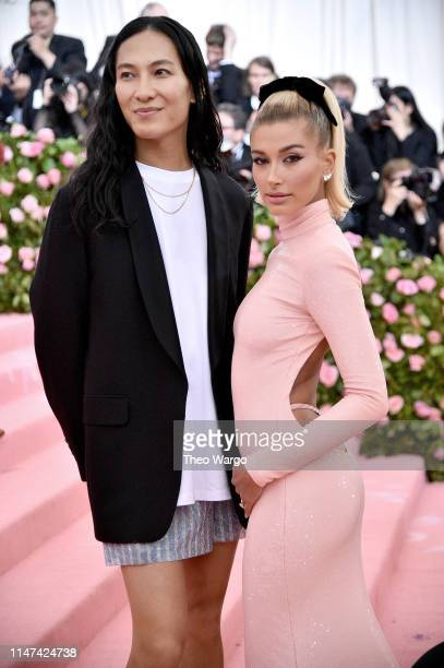 Alexander Wang and Hailey Bieber attend The 2019 Met Gala Celebrating Camp Notes on Fashion at Metropolitan Museum of Art on May 06 2019 in New York...