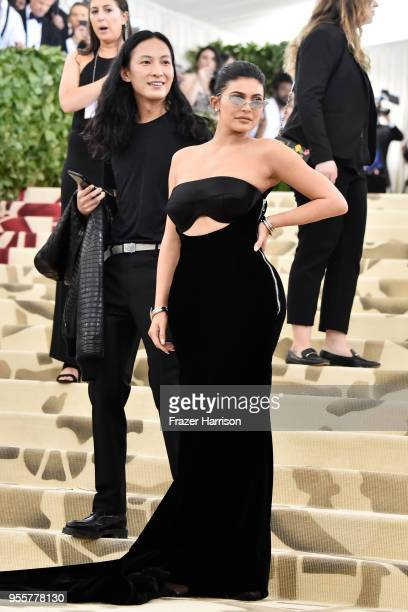Alexander Wang and Kylie Jenner attend the Heavenly Bodies Fashion The Catholic Imagination Costume Institute Gala at The Metropolitan Museum of Art...