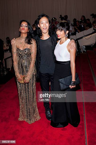 MIA Alexander Wang and Zoe Kravitz attend 'American Woman Fashioning A National Identity' Costume Institute Gala at The Metropolitan Museum of Art in...