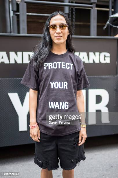 Alexander Wang attends the 2018 New York City Pride March on June 24 2018 in New York City