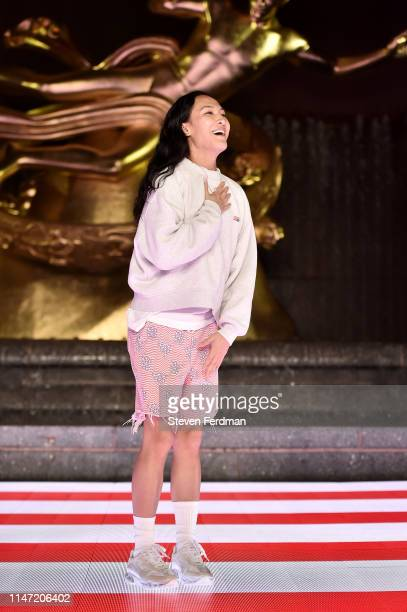 Alexander Wang attends the Alexander Wang Collection 1 fashion show at Rockefeller Center on May 31 2019 in New York City