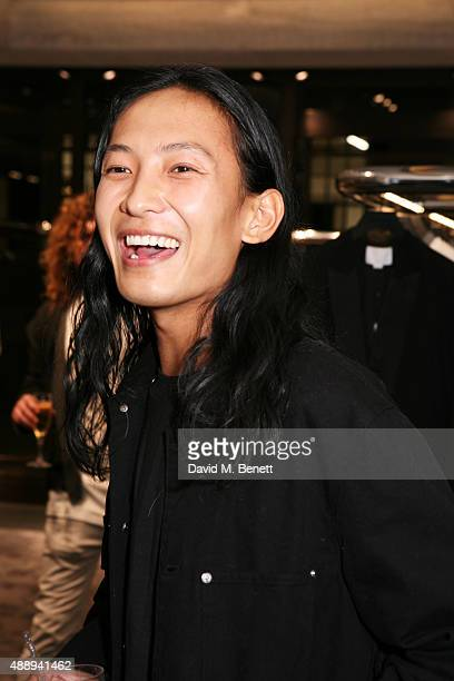 Alexander Wang attends the Alexander Wang store opening in Mayfair on September 18 2015 in London England