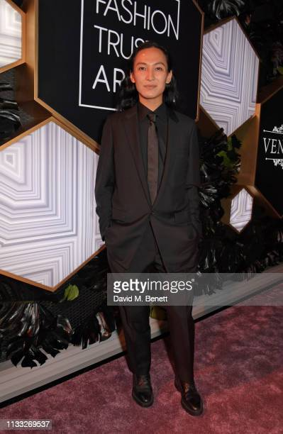 Alexander Wang attends the Fashion Trust Arabia Prize awards ceremony on March 28, 2019 in Doha, Qatar.