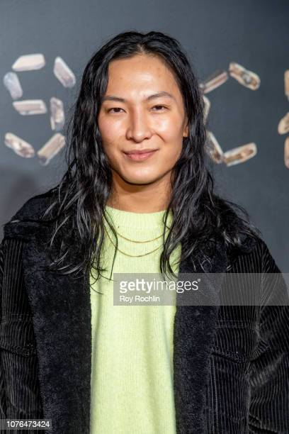 Alexander Wang attends the the Versace fall 2019 fashion show at the American Stock Exchange Building in lower Manhattan on December 02 2018 in New...