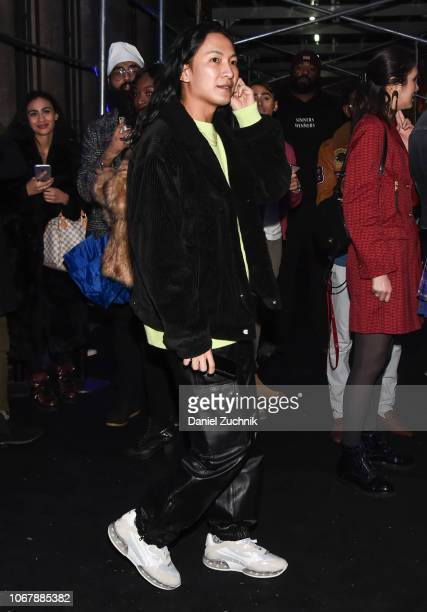 Alexander Wang is seen outside the Versace PreFall 2019 Collection on December 2 2018 in New York City
