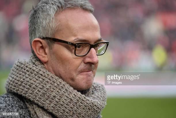 Alexander Wehrle of Koeln looks on prior to the Bundesliga match between 1 FC Koeln and VfB Stuttgart at RheinEnergieStadion on March 4 2018 in...