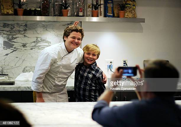 Masterchef Junior Winner Alexander Weiss Vip Dinner Stock Fotos Und